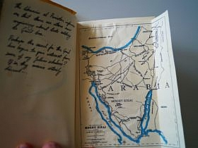 Special page map of Arabia