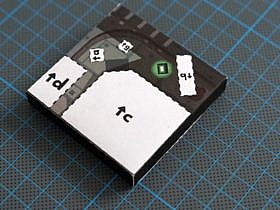 Grand Theft Auto Papercraft Base Plate