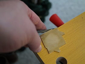 Filing Medallion Pieces